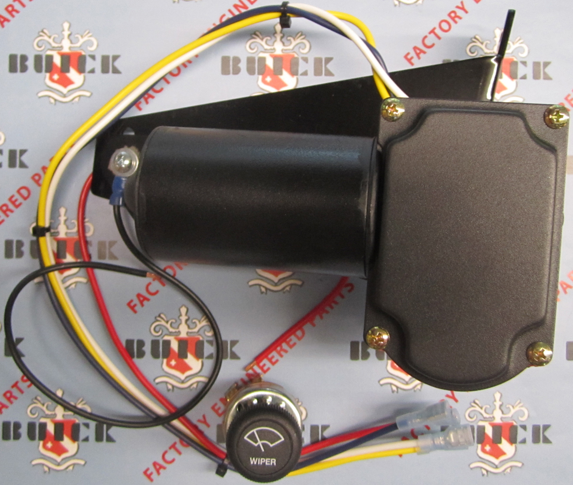 Windshield Wiper Motor 1940 Buick 12V
