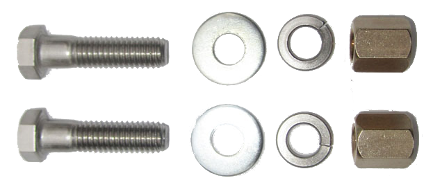Exhaust Pipe Manifold Bolt Kit 1934-85