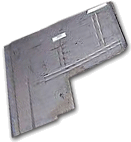Floor Pan 1957-58 Buick Front Left