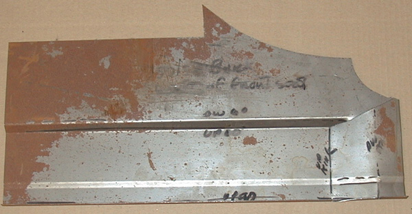 Floor Pan 1957-58 Buick Front Side Left
