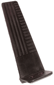 Gas Pedal 1955-56 Buick Black Rubber