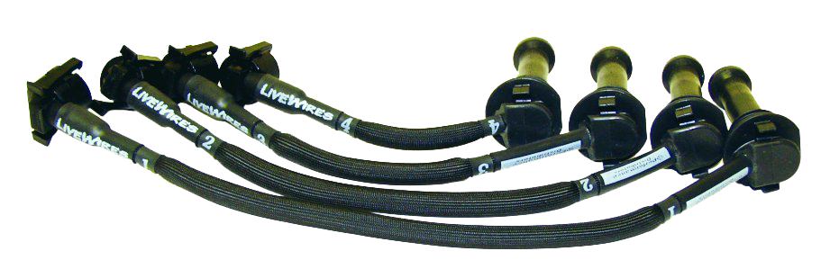 Spark Plug Wire Set 1936-53 DUI383 Black