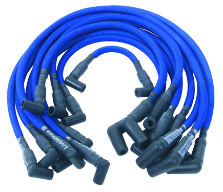 Spark Plug Wire Set 1957-66 DUI576 Blue