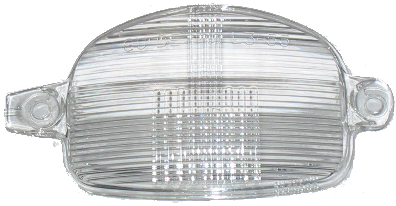 License Lamp Lens 1956 Buick