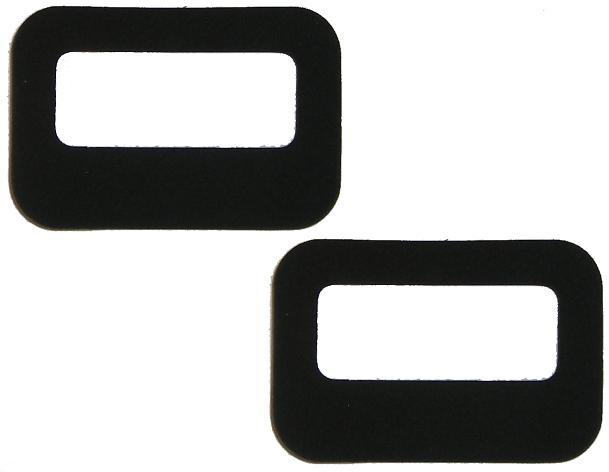 License Lamp Lens Gasket 1954-55 Buick