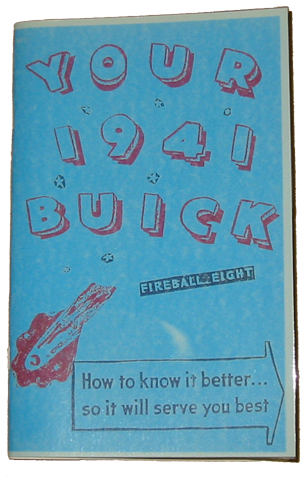 Owners Manual 1941 Buick