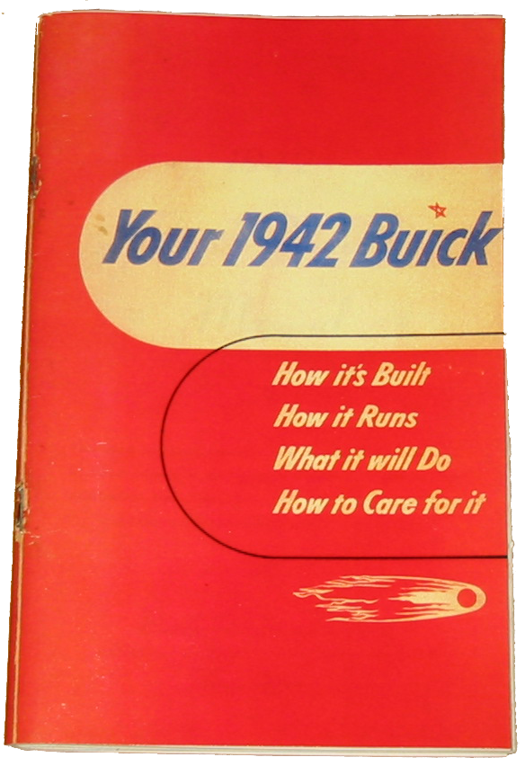 Owners Manual 1942 Buick