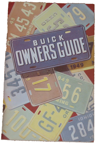 Owners Manual 1949 Buick Full Color
