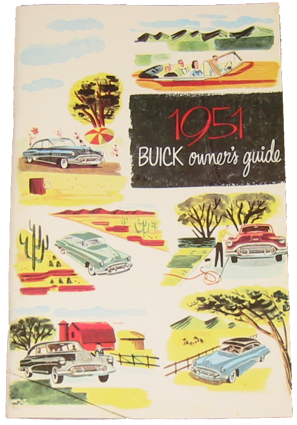 Owners Manual 1951 Buick Full Color