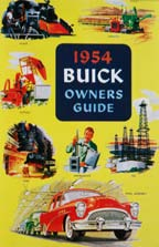 Owners Manual 1954 Buick