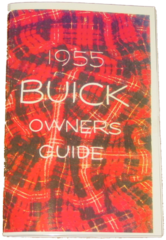 Owners Manual 1955 Buick