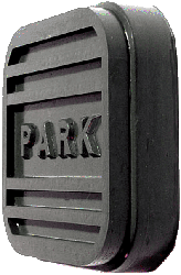 Brake Pedal Pad 1955-58 Parking / Green