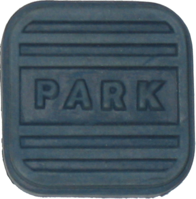Brake Pedal Pad 1955-58 Parking / Blue
