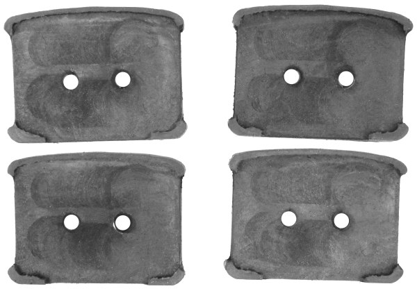 Convertible Top Bow Pads 1936-37 Buick