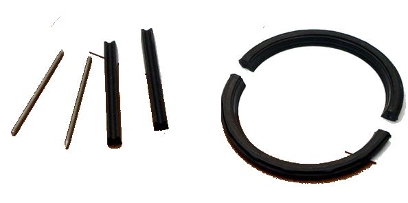 Rear Main Seal Set 1934-53 Buick Molded