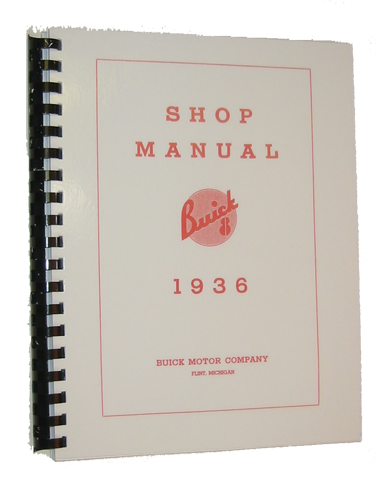 Shop Manual 1936 Buick