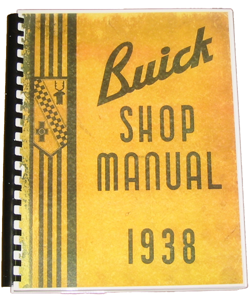 Shop Manual 1938 Buick