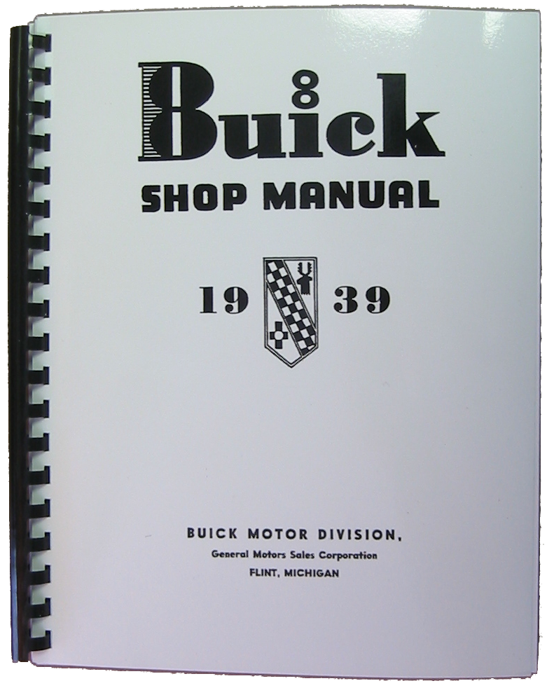 Shop Manual 1939 Buick