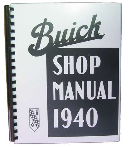 Shop Manual 1940 Buick