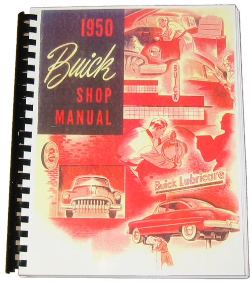 Shop Manual 1950 Buick