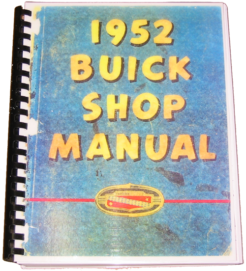 Shop Manual 1952 Buick