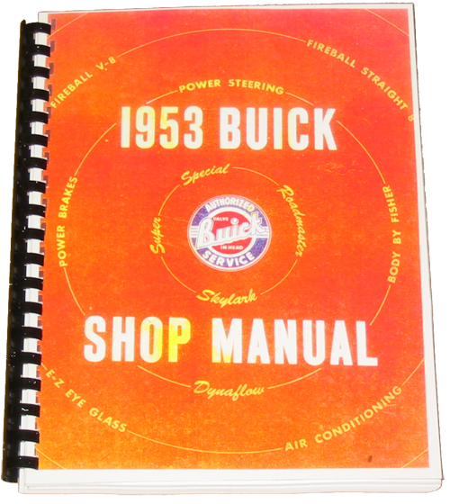 Shop Manual 1953 Buick