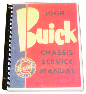 Shop Manual 1958 Buick