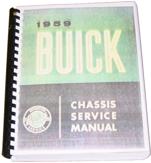Shop Manual 1959 Buick