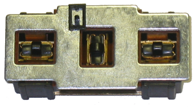 Power Seat Switch 1957-58 W/O Escutcheon
