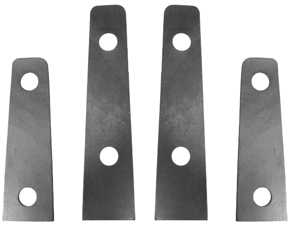 Trunk Hinge Pads 1940-48 Oldsmobile