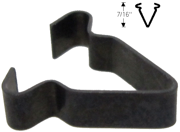 Door Weatherstrip Clip 1936-39 Olds