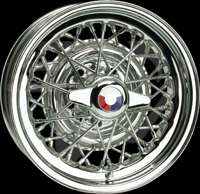 Wire Wheel 1953-55 Chrome Spoke