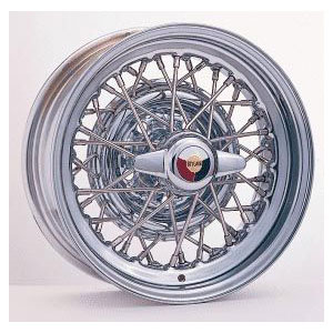 Wire Wheel 1953-55 Stainless Steel Spoke