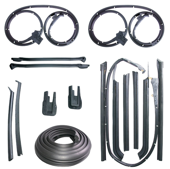 Weatherstrip Kit 1965 Oldsmobile 88 Dlx