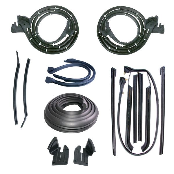 Weatherstrip Kit 1967-68 Olds 98 Conv D