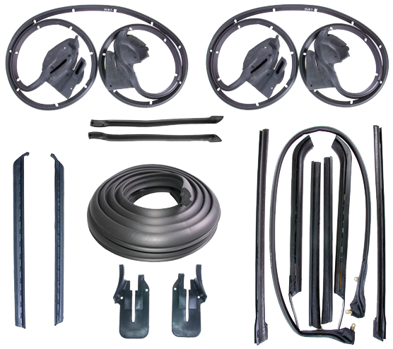 Weatherstrip Kit 1969-70 Electra Conv Dx