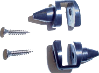 Convertible Top Frame Guide Pins 1971-75