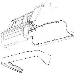 Air Dam 1986-1987 Buick Grand National S