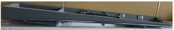Console Center Section 1978-88 Buick Blk