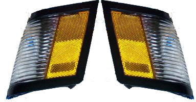 Side Marker Light 1984-87 Buick Black