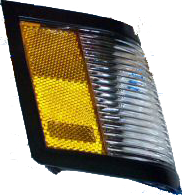 Side Marker Light 1984-87 RH Black