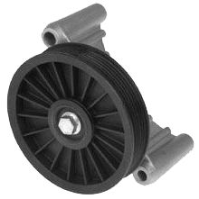 A/C Delete Pulley and Bracket 1986-87