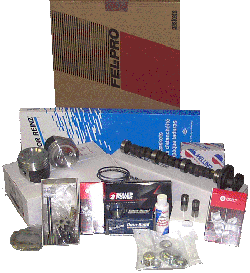 Engine Overhaul Kit 1986-87 3.8-7 Cast