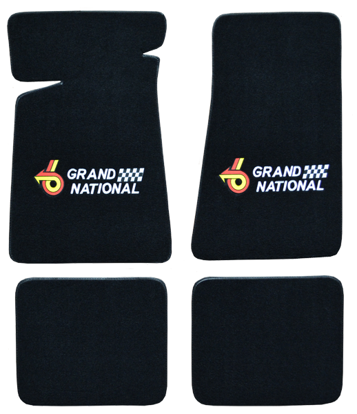 Floor Mats 1984-1987 Grand National BLk