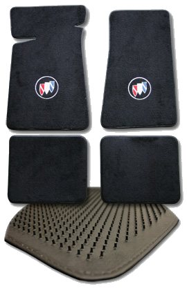Floor Mats 1973-1987 Regal Black