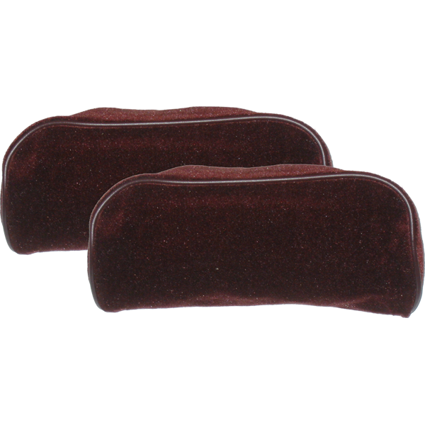 Head Rest Covers 1985-87 Maroon
