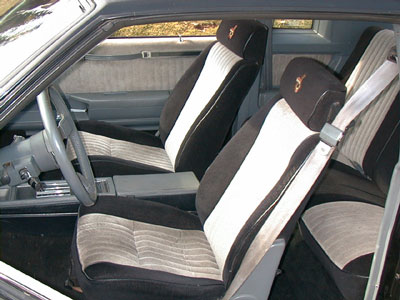 Seat Upholstery 1985-87 GN GNX Bucket