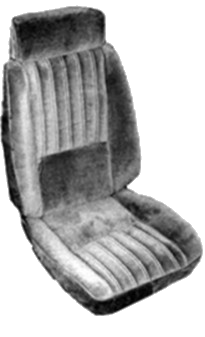 Seat Upholstery 1985-87 T-Type