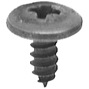 Wheel Opening Molding Screw - Black