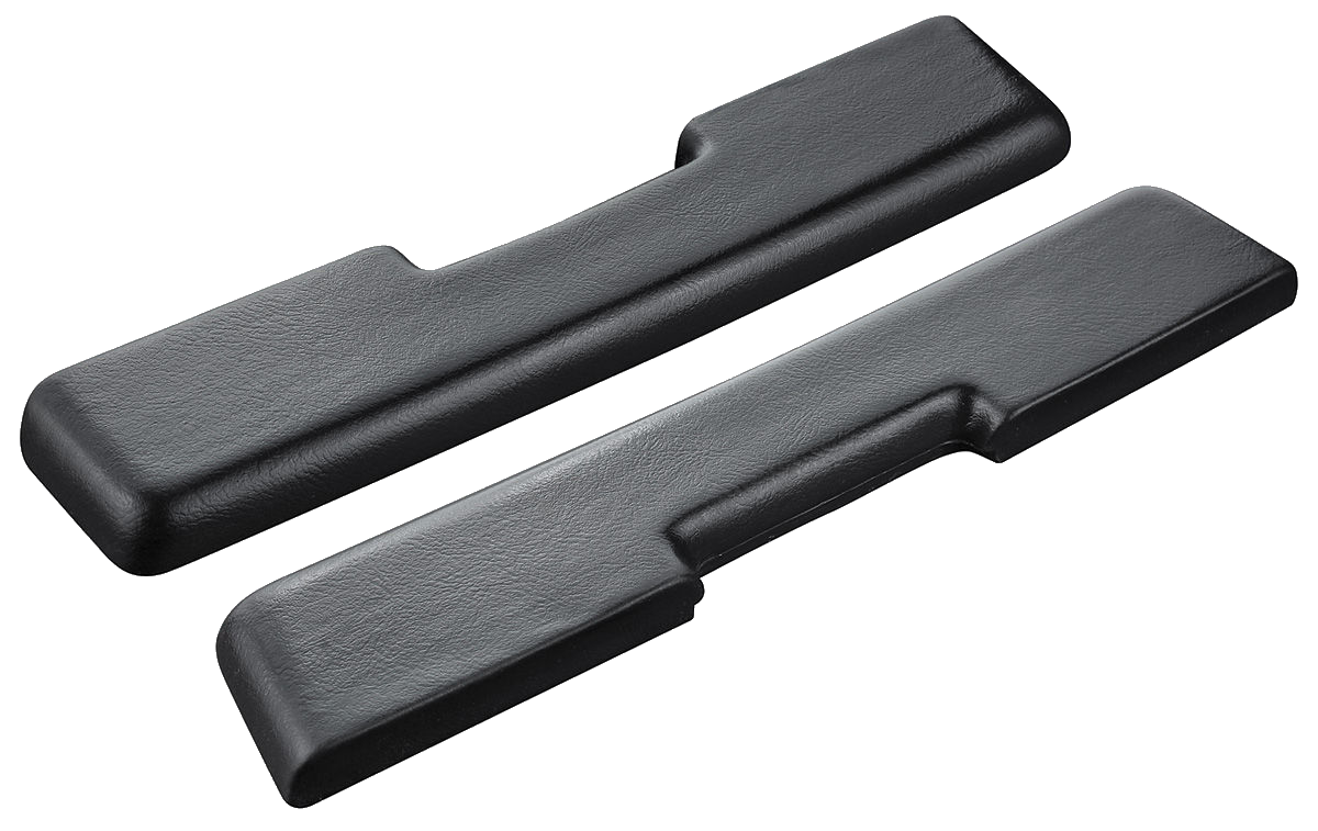 Arm Rest Pads 1965-66 Buick Riviera Blk